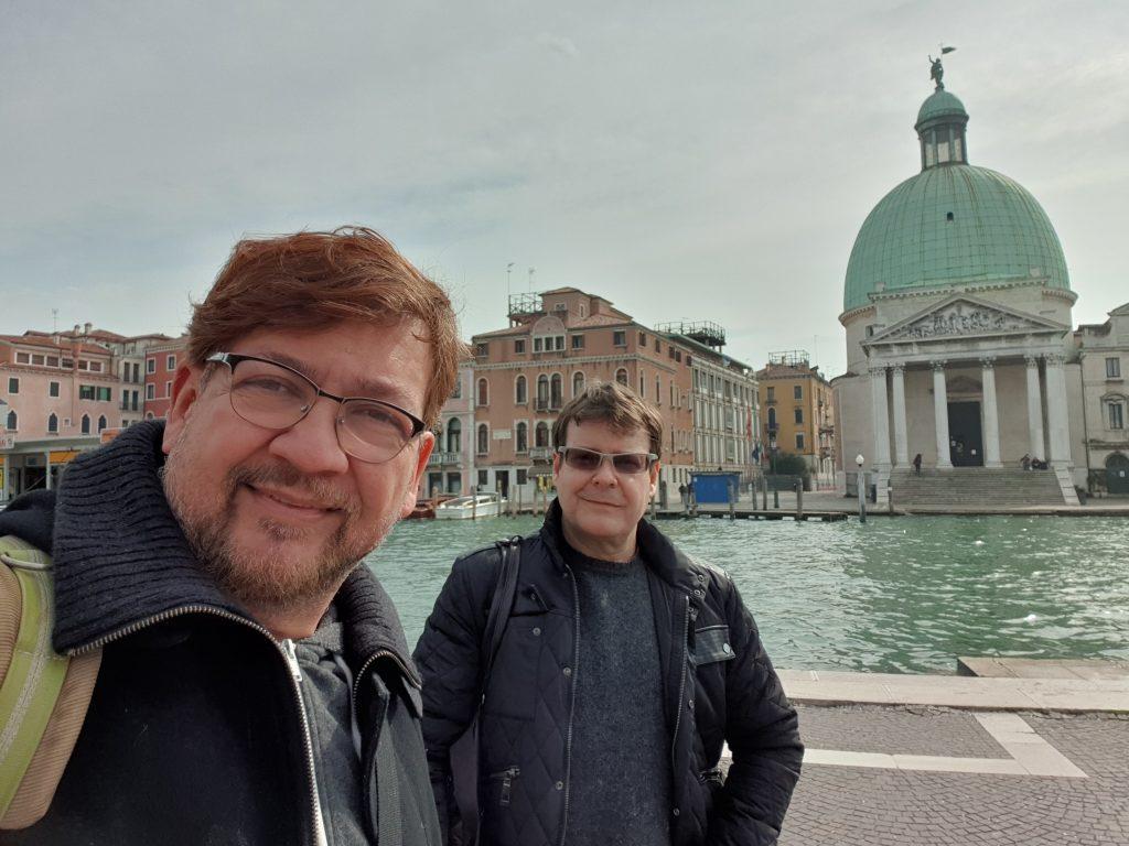 Venecia y viajes astroboy