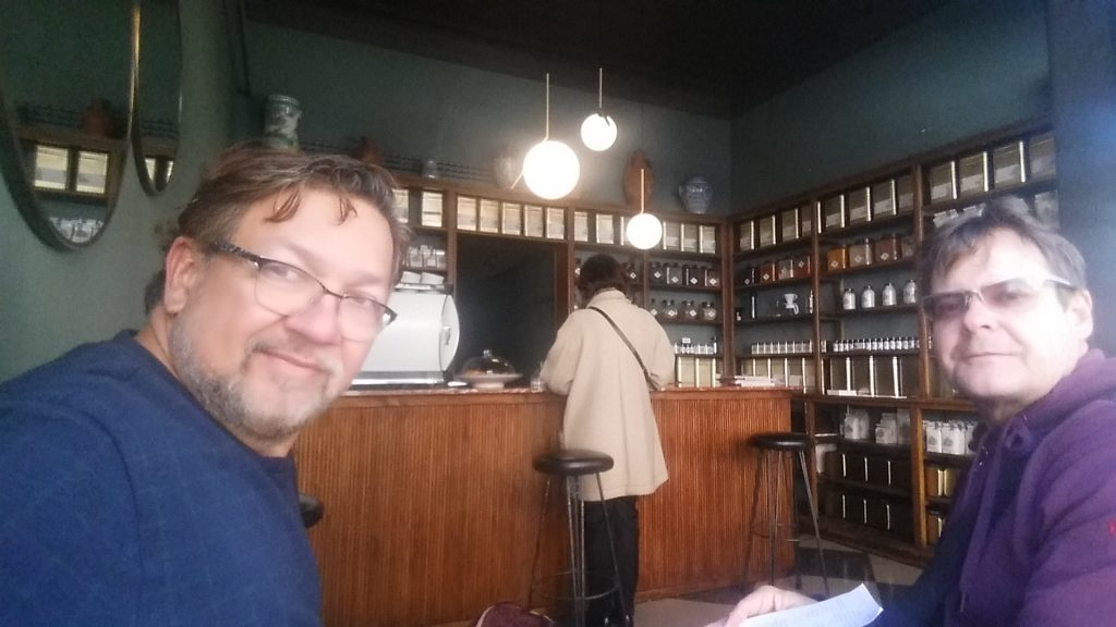 cafes de madrid