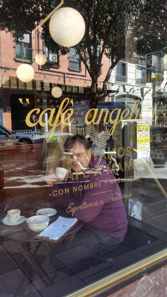 Cafe en madrid