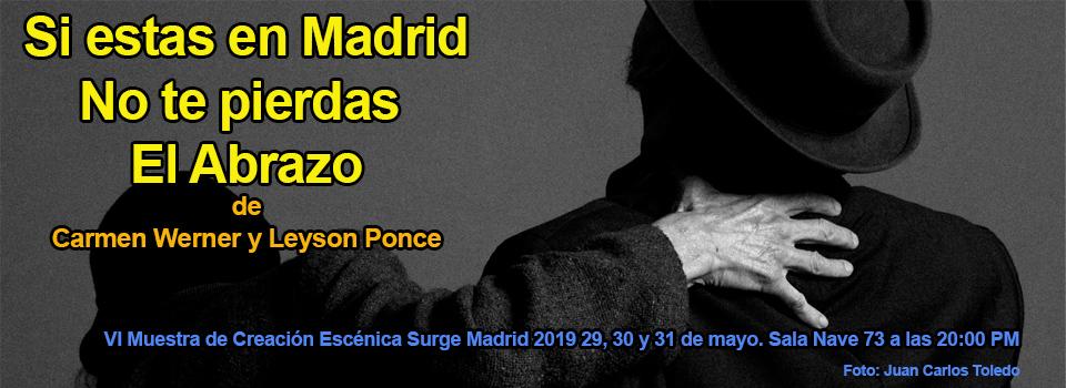 El abrazo en Surge Madrid