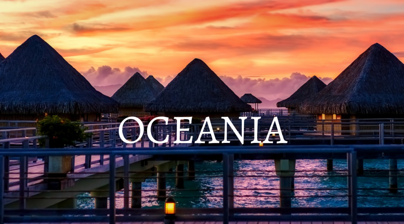 ofertas para oceania