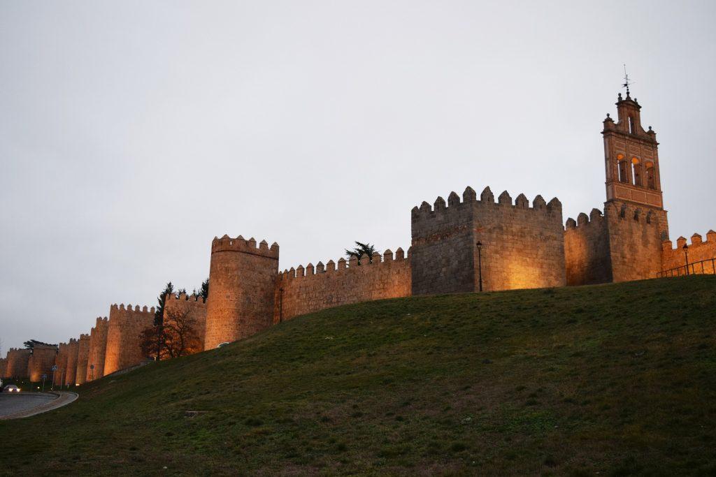 muralla avila